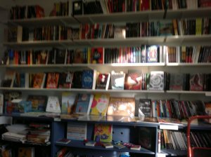 The teen section