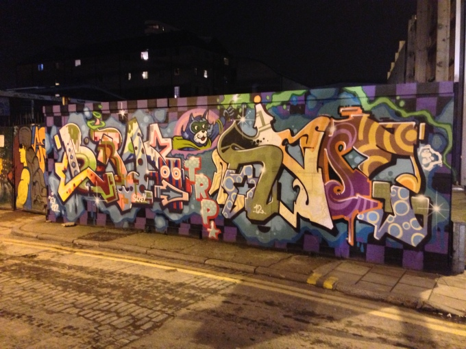 Street Art or Vandalism?