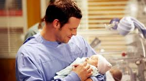 Image result for grey's anatomy alex kerev and babies